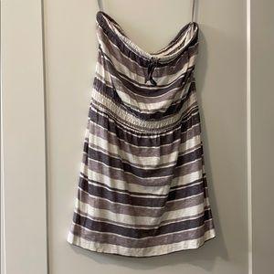 Beachy tube dress from LOFT Ann Taylor Medium